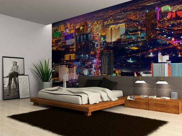 Wonderful Wall Murals Las Vegas At Night Part 13