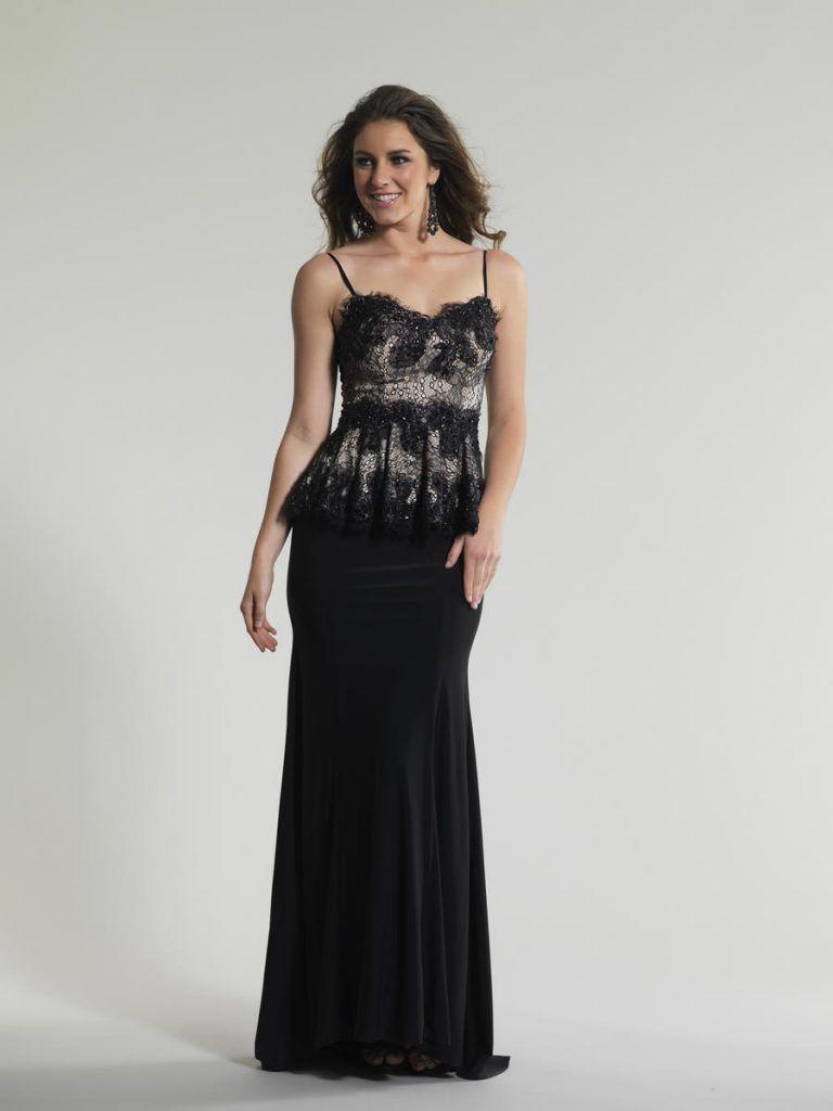 Peplum gown evening dress with peplum fashion women pinterest