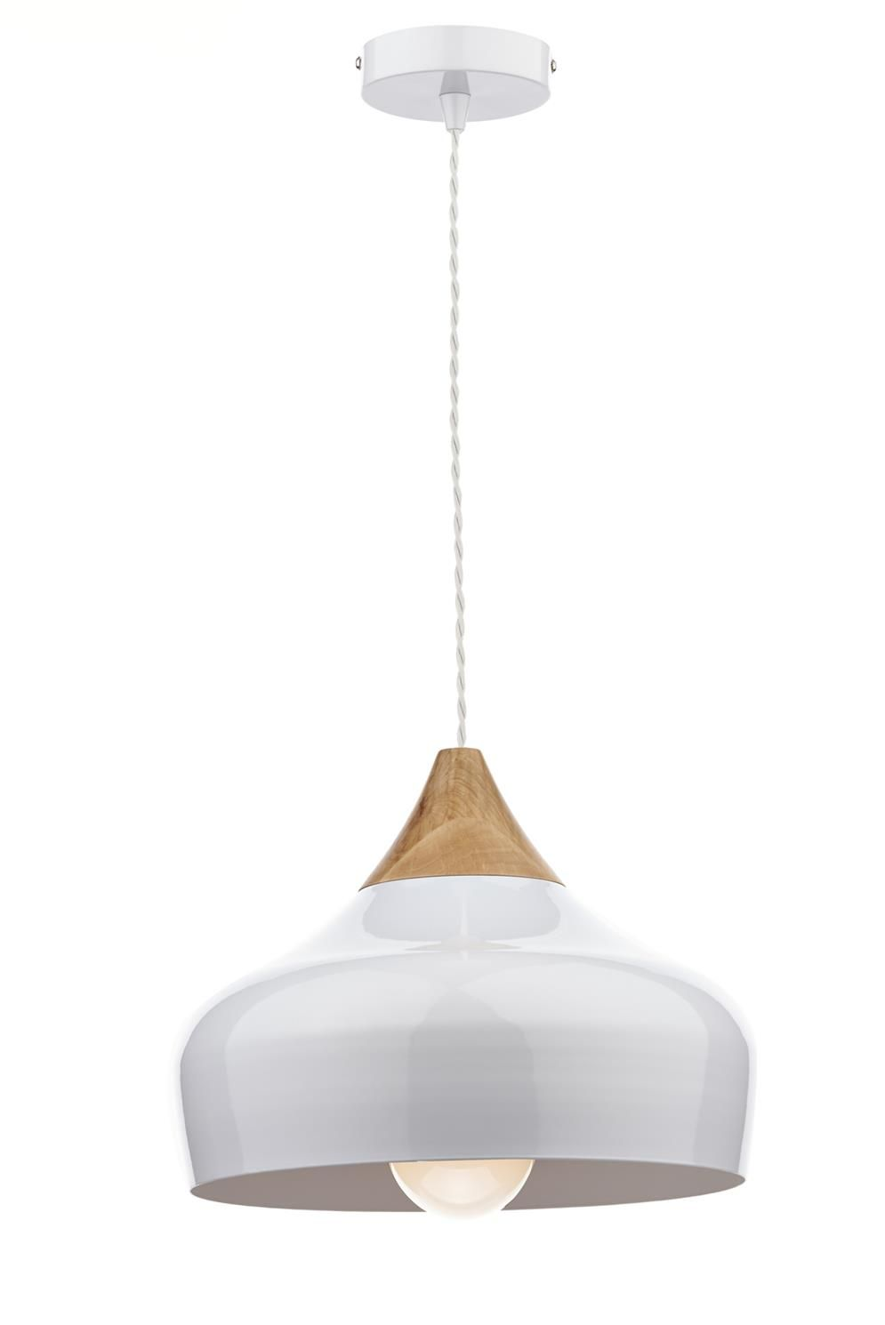 Gau0102 gaucho small pendant in gloss white wood white high gloss gau0102 gaucho small pendant in gloss white wood white high gloss metal ceiling pendantceiling lightspendant aloadofball Images