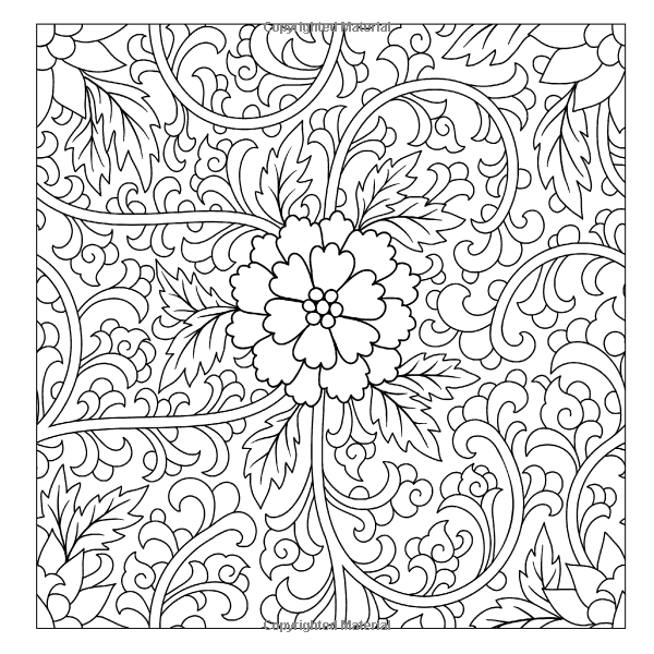 Beautiful Floral Designs And Patterns Flower Garden Coloring Book Sacred Mandala Books For Adults Volume 27 Lilt Kids