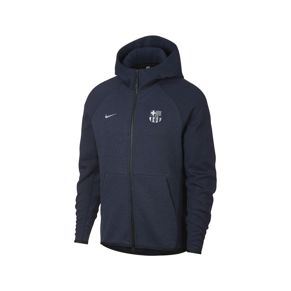 presenting so cheap the best attitude Veste À Capuche Barça Tech Fleece Bleu - Taille : XL ...