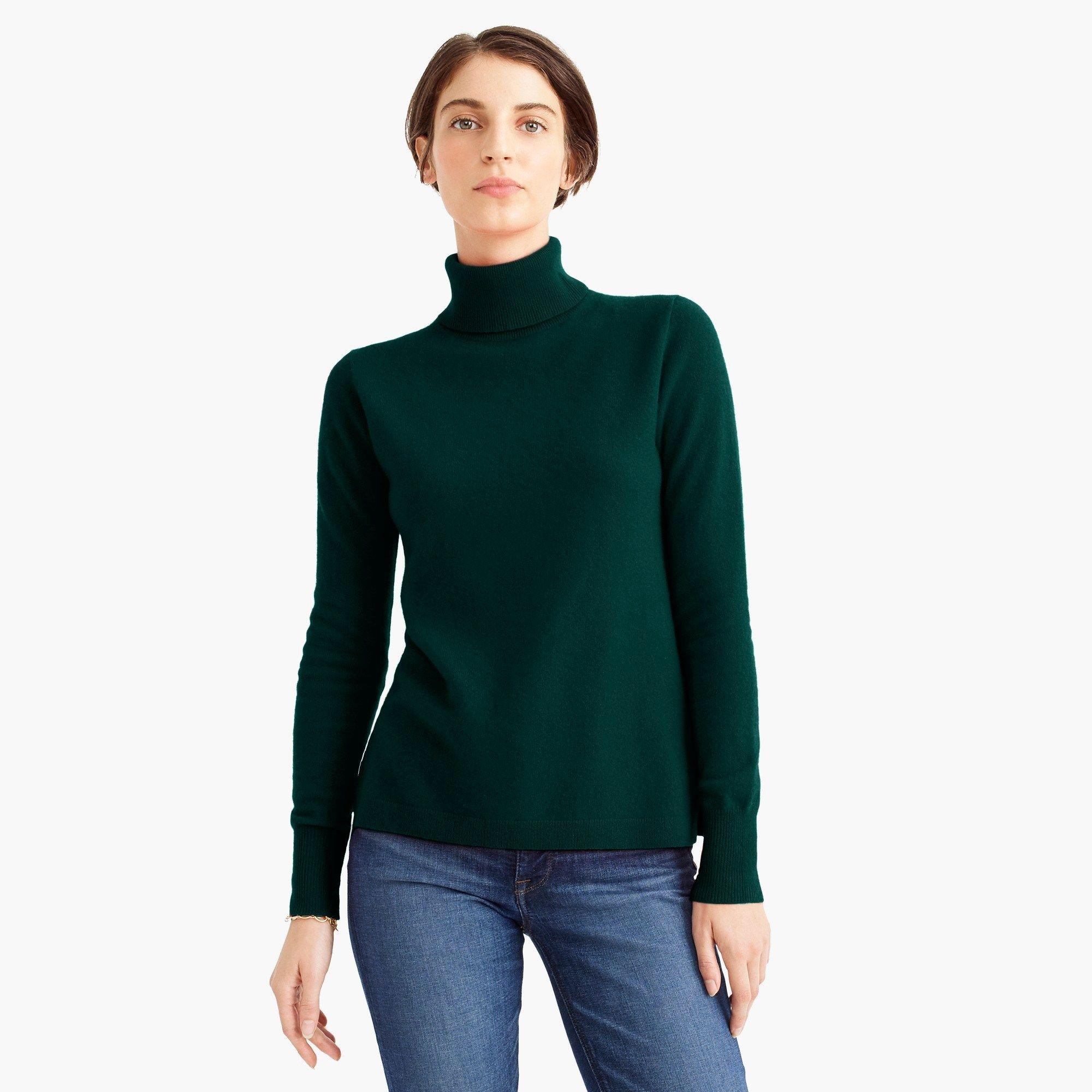 Everyday cashmere turtleneck sweater | Cashmere turtleneck
