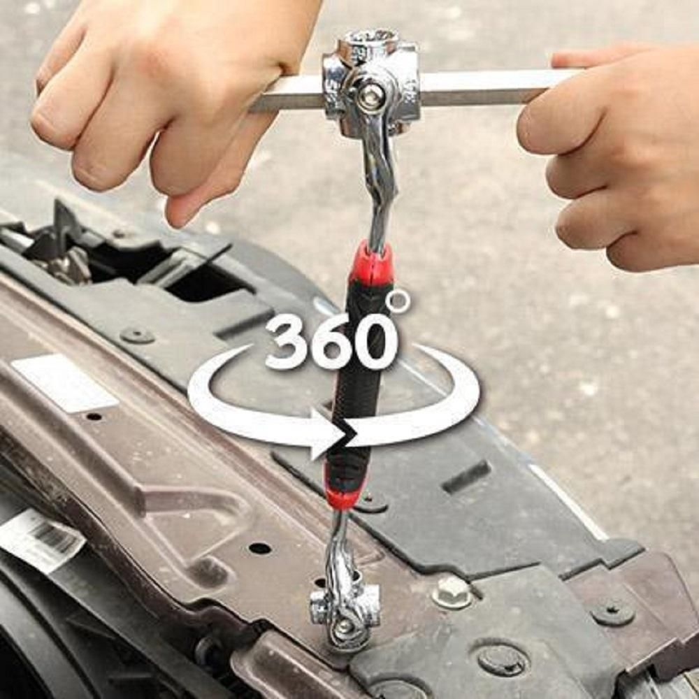 Universal Socket Wrench 48 In 1 Tool Socket Wrenches Tools Sockets Universal Wrench