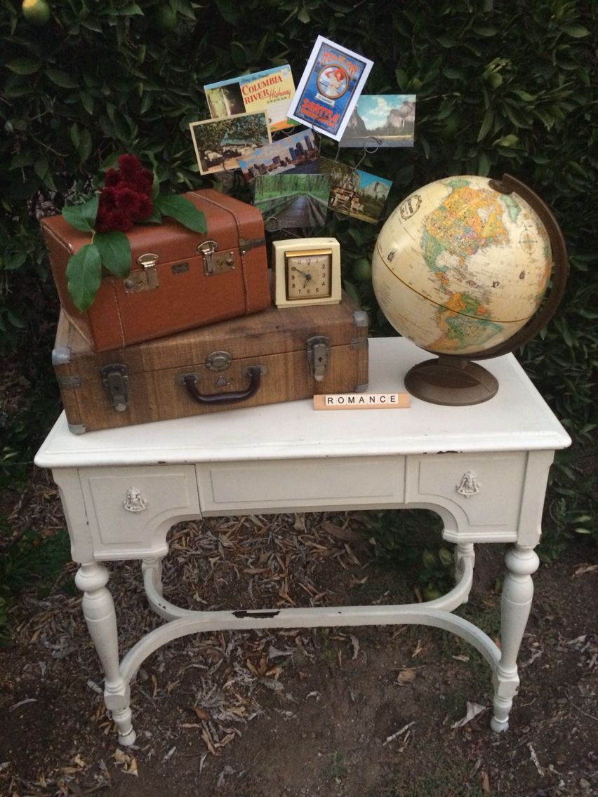 Miscellanea Rentals Vintage Honeymoon Gift Table For Wedding Gifts