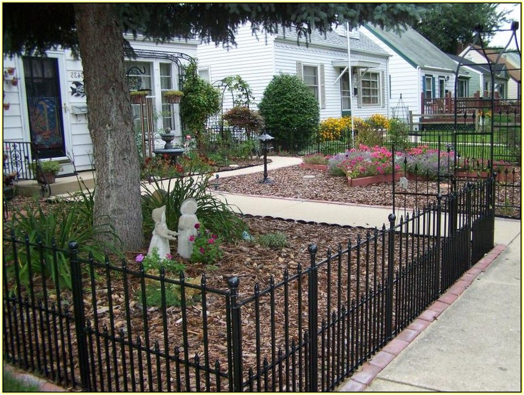 Fence Ideas For Front Yard Part - 17: Extraordinary Yard Fencing Ideas Have Front Yard Fence Ideas