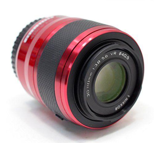 Nikon 1 30 110mm F 3 8 5 6 Vr Nikkor Lens Red Http Www Lookatcamera Com Nikon 1 30 110mm F3 8 5 6 Vr Nikkor Lens Red Photography Lens Camera