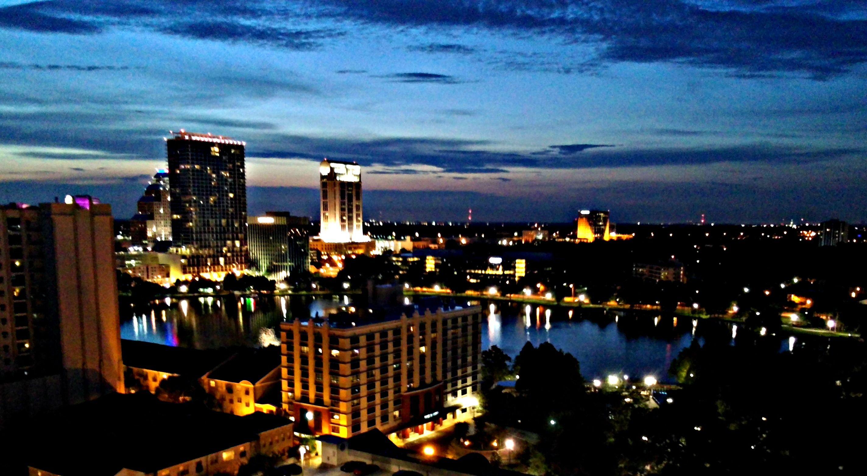 #Orlando at night