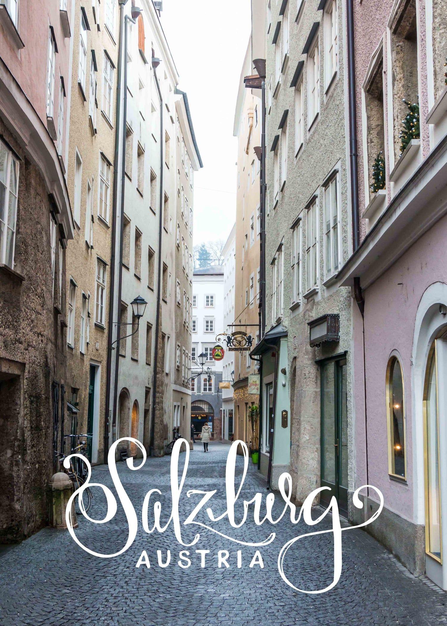 Beginning the new year in Salzburg, Austria // Sea of Atlas