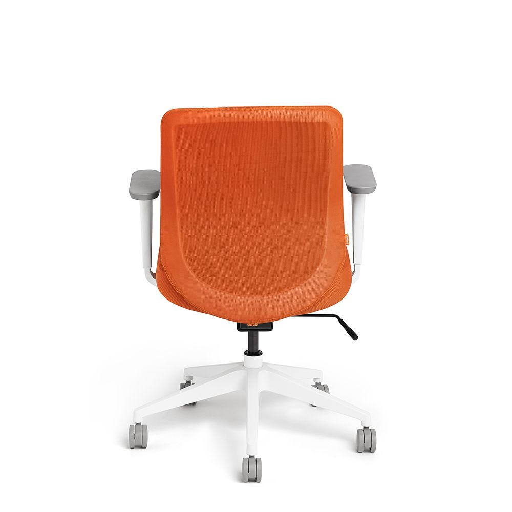 Orange Max Mid Back Task Chair Office Furniture Task Chair