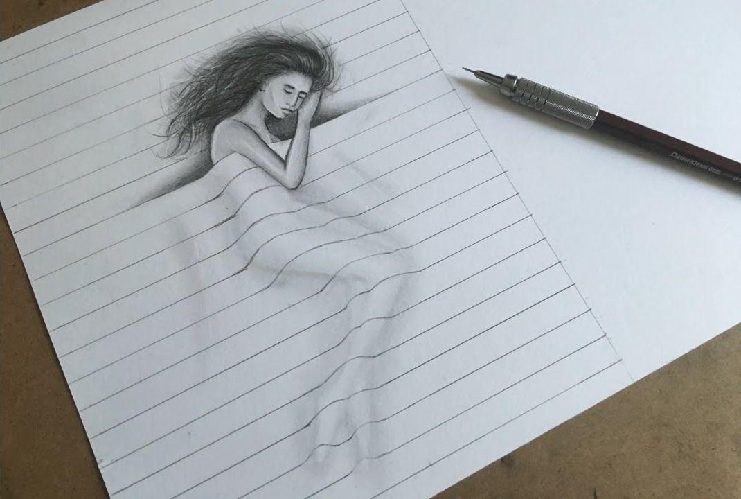3д картинки легко нарисовать