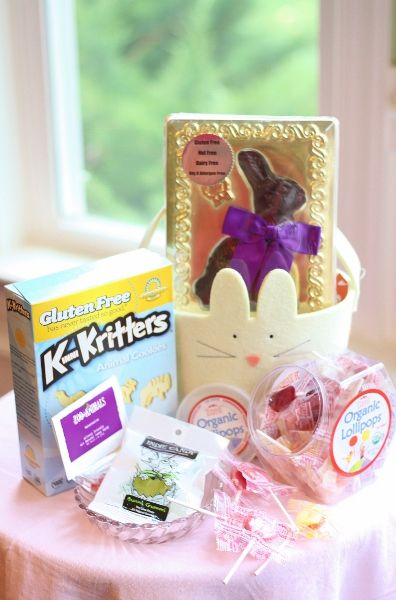 A gluten free easter basket can be dairy free too a gluten free easter basket can be dairy free too negle Choice Image