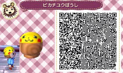 Pikachu Hat Qr Code For Acnl Animal Crossing New Leaf Animal