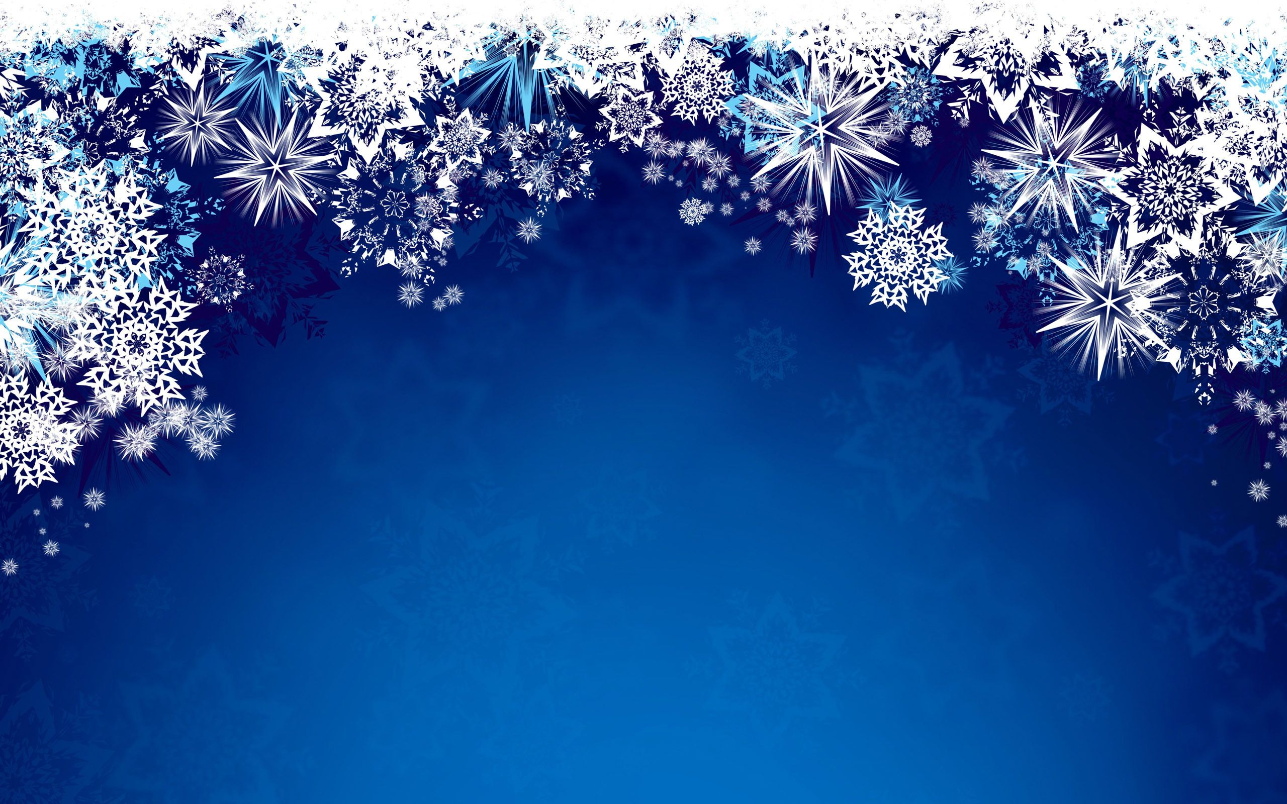 White Real Snowflakes Falling On Blue Background Stock ... |Real Snowflakes Background