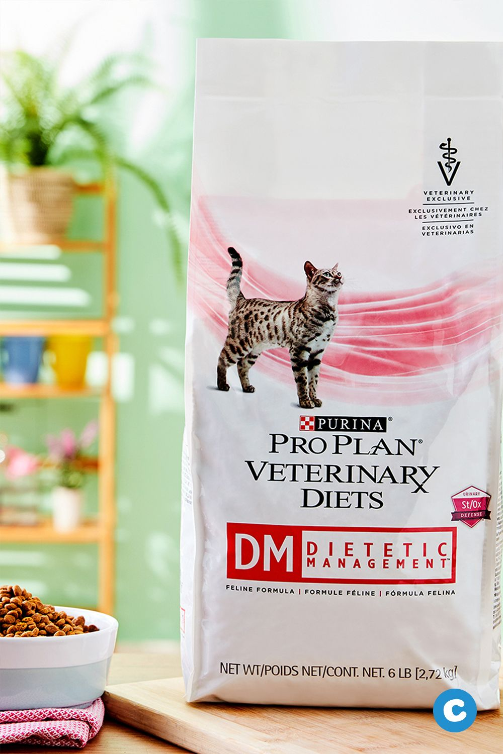 Purina Pro Plan Veterinary Diets Dm Dietetic Management Formula Dry Cat Food 10 Lb Bag Chewy Com Dry Cat Food Purina Pro Plan Cat Nutrition