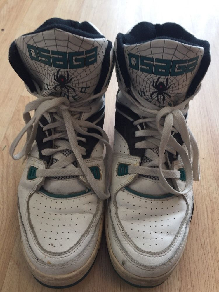 size 40 94017 30da0 Osaga Spider John Salley Leather Basketball Sneakers Mens 7.5 in Clothing,  Shoes  Accessories, Mens Shoes, Athletic  eBay