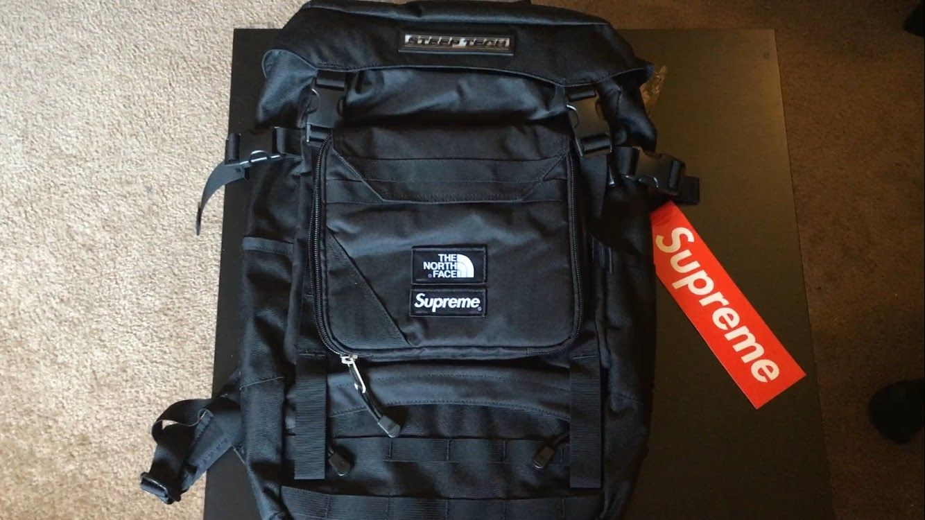 2bf12074d Supreme x The North Face Steep Tech Backpack Unboxing And Review ...