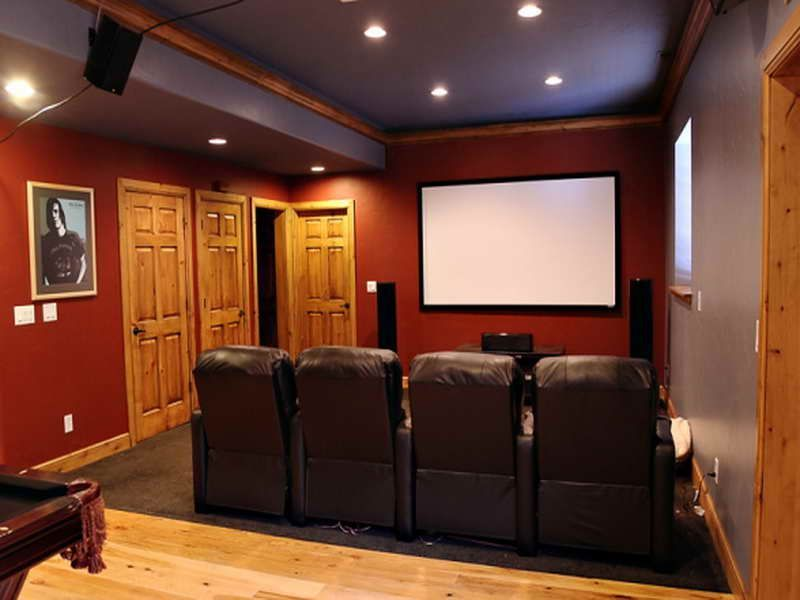 home movie theater room chairs modern home media room