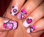 Photo of crisso cross by rosekatielouise  Nail Art Gallery nailartgallery.na by Nails