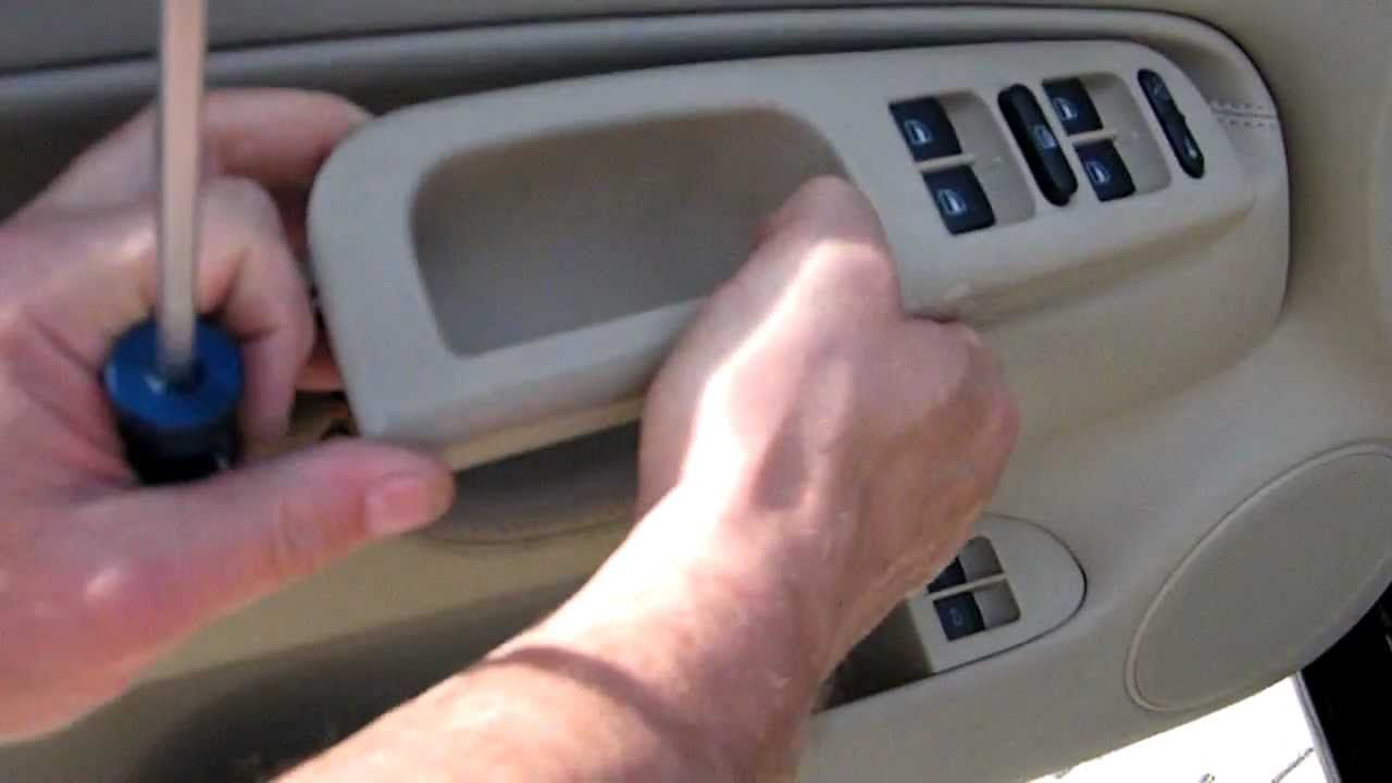 Learn How To Take Your Door Panel Off The Right Way! You Might Need To  Install Speakers, Fix An Inner Or Outer Door Handle, Replace The Power  Window Motor ...