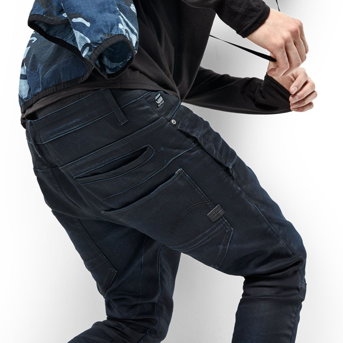 ce03b3de068e D-STAQ Our 3D denim construction gets a fresh chino twist. All of the  pockets