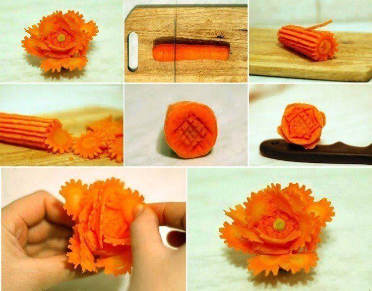 sculpture sur fruit et sur l gume 93 id es et instructions. Black Bedroom Furniture Sets. Home Design Ideas