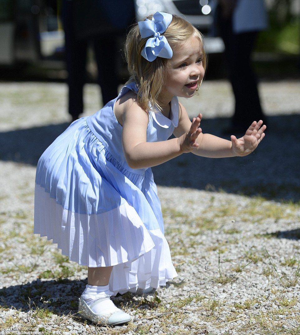 Cheeky Princess Estelle Gives Her Parents The Runaround