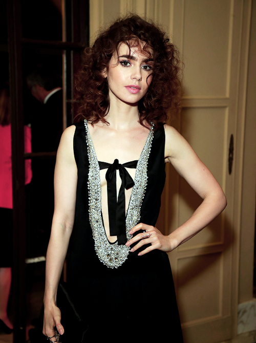 Lily Collins attended the Netflix party during the 70th annual Cannes Film Festival in Cannes, France on May 21, 2017.