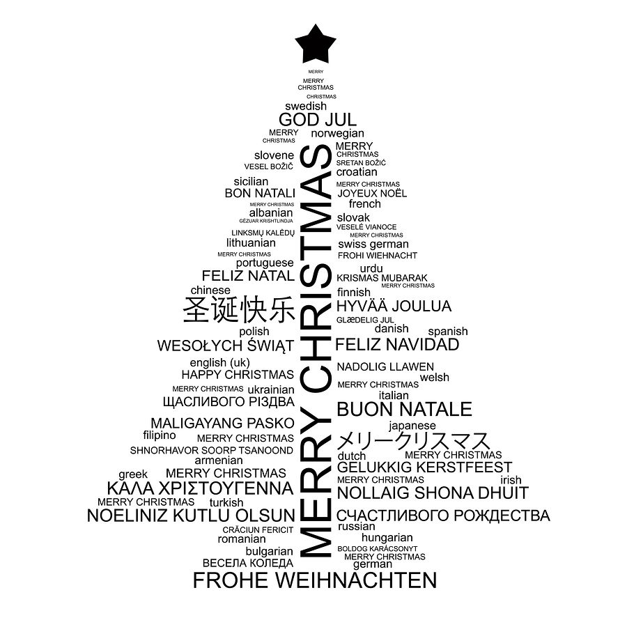 DG Multilingual Services wishes you a Multicultural Xmas! :)
