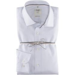 Photo of Olymp Level Five Smart Business Shirt, body fit, Kent, White, 46 Olympus