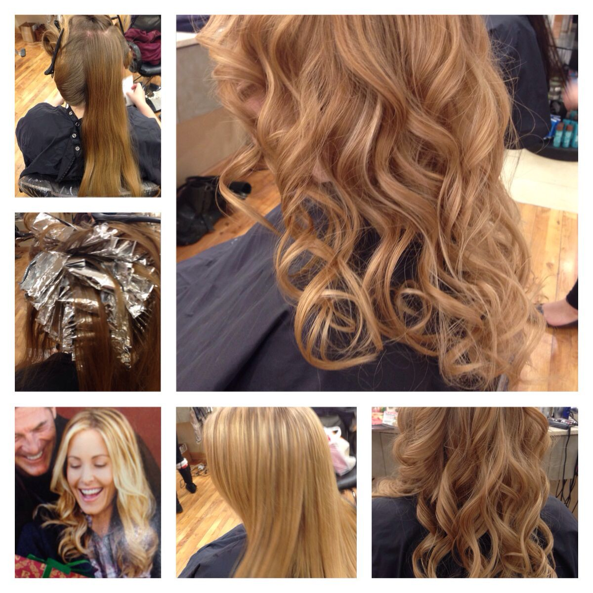Full head foil highlight before and after hair coloring full head foil highlight before and after pmusecretfo Image collections