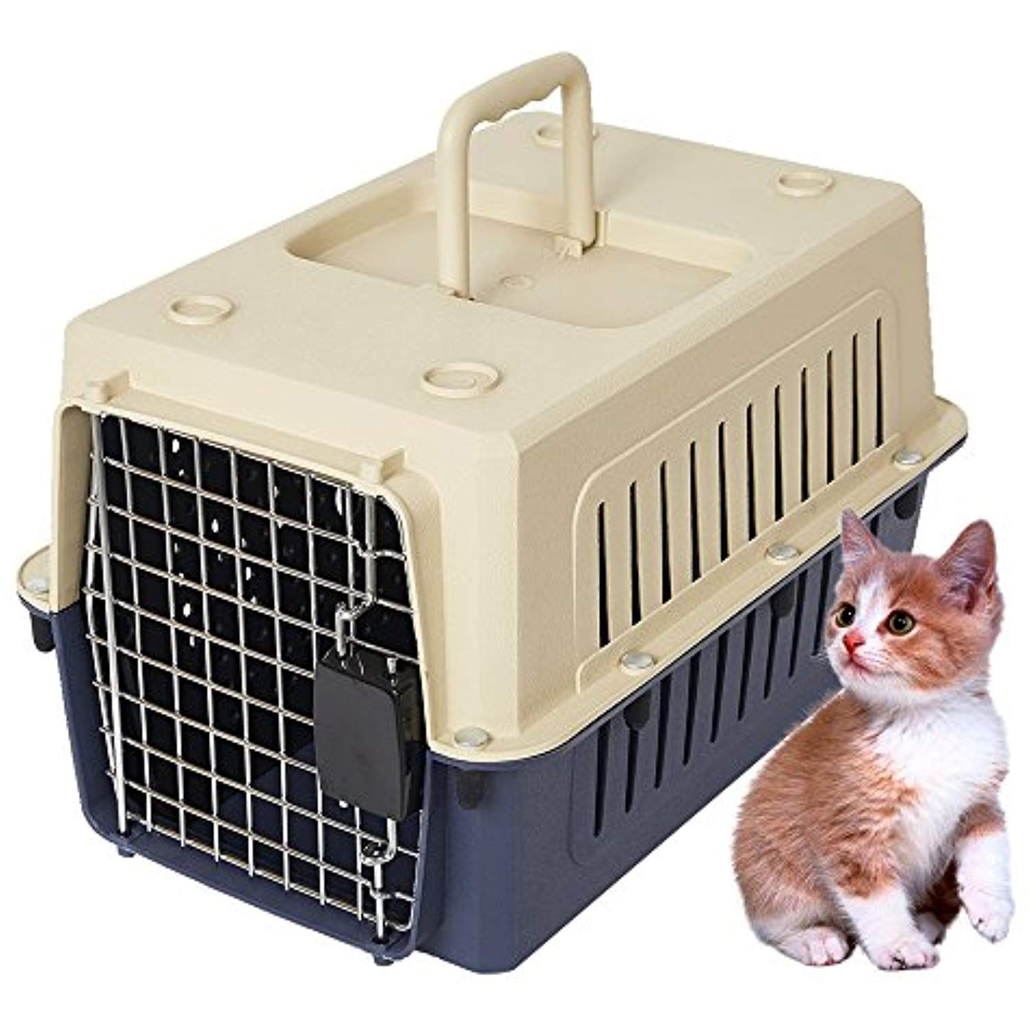 Lucky Tree Airline Approved 4 Size Pet Carrier Kitty