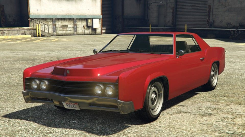 Red Albany Virgo Gta Front View Gta Muscle Cars Pinterest