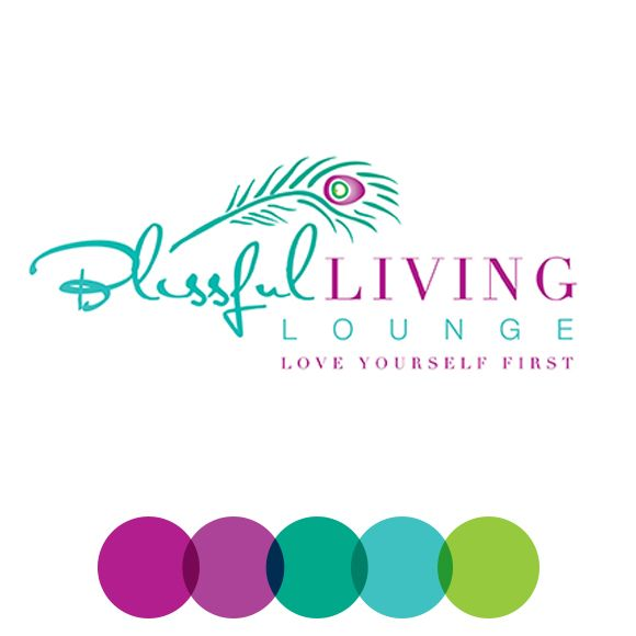 Logo And Branding For Blissful Living Lounge.