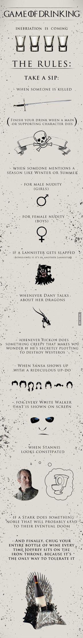 Game Of Thrones Trinkspiel