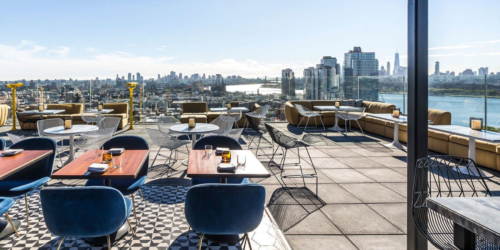 16 Rooftop Bars In Nyc To Get Your Drink On This Spring Rooftop Bars Nyc Nyc Rooftop Best Rooftop Bars Nyc