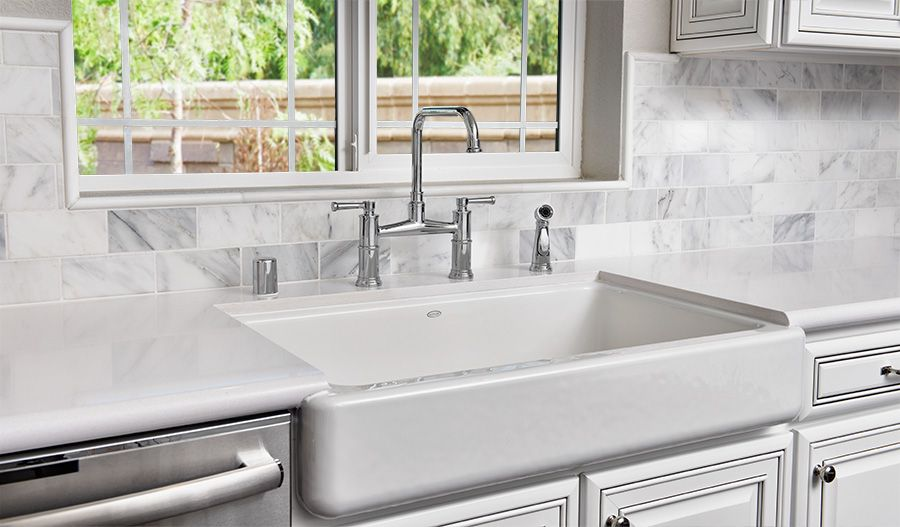 The Farmhouse Apron Sink In Mountain House Ca Is Equal Parts Beauty And Function Chantel Plan By Richmond American Richmond Homes Farmhouse Apron Sink House
