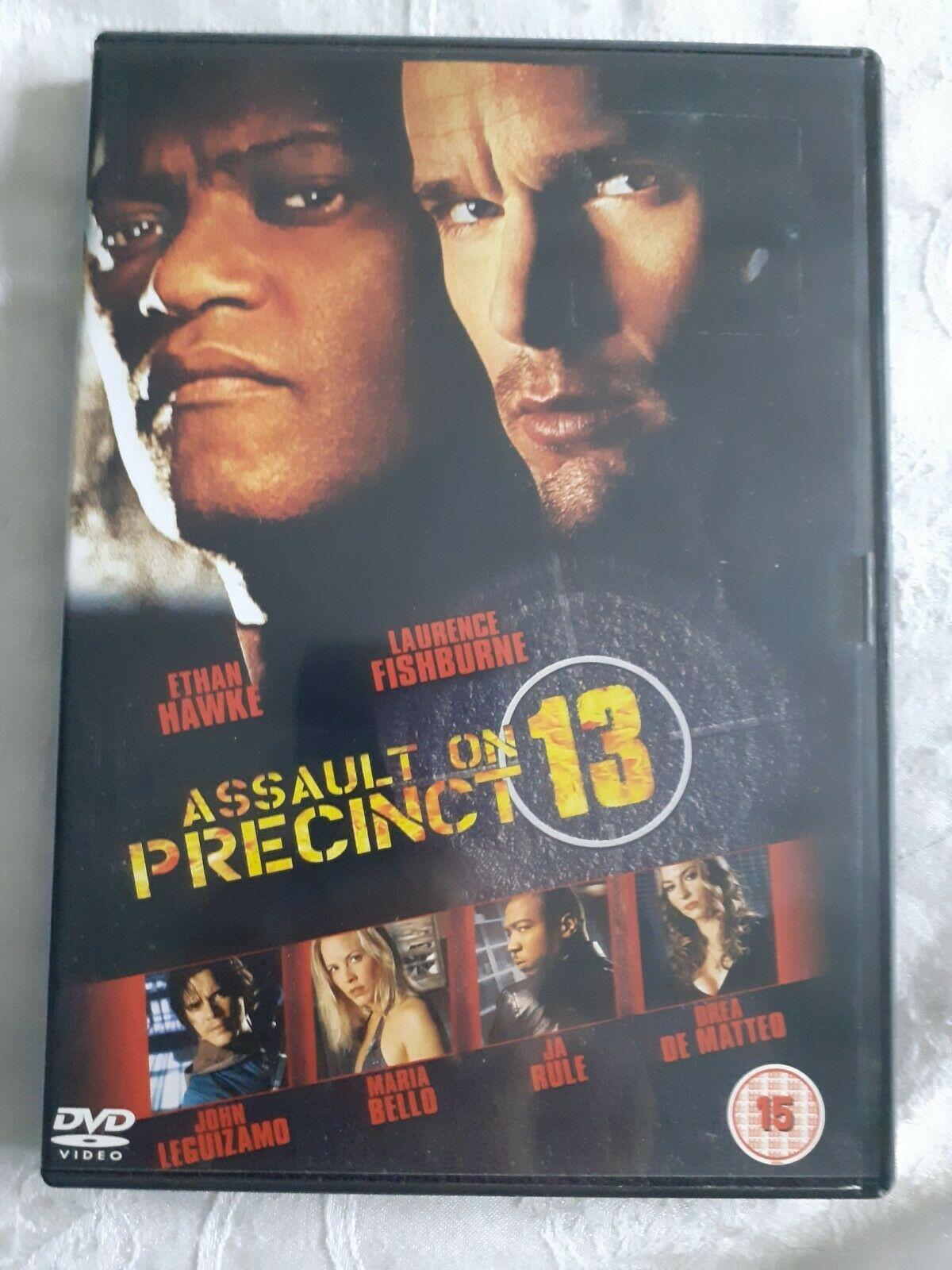 Details About Dvd Assault On Precinct 13 Movie Nights Cert15 In