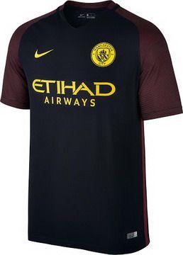 88275ef5a Camiseta Manchester City lejos 2016 2017