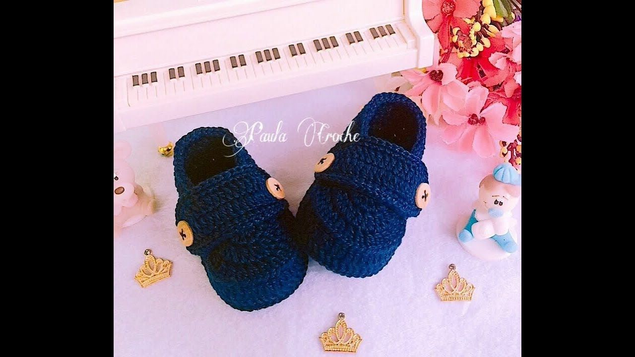 Mocassim Baby | Gehäkelte Mocassin & Co | Pinterest