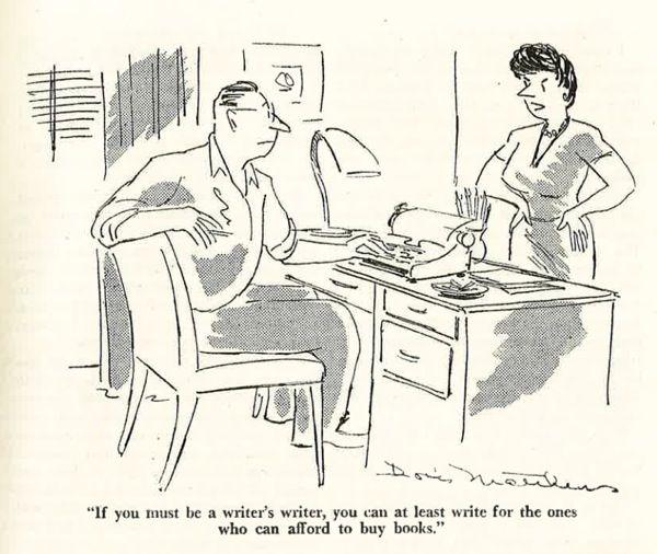 Vintage Writer Cartoons And Jokes Writing Humor Writer Humor Writer