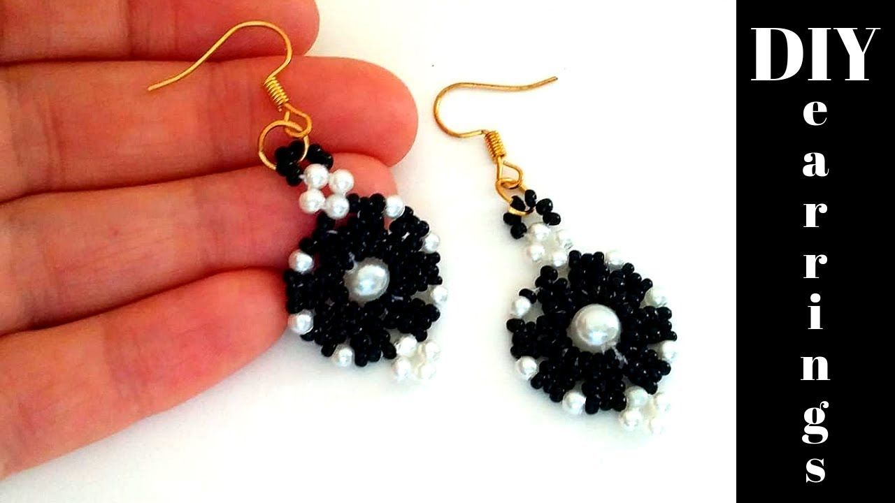 Beaded Earring Patterns For Beginners Amazing Inspiration Design