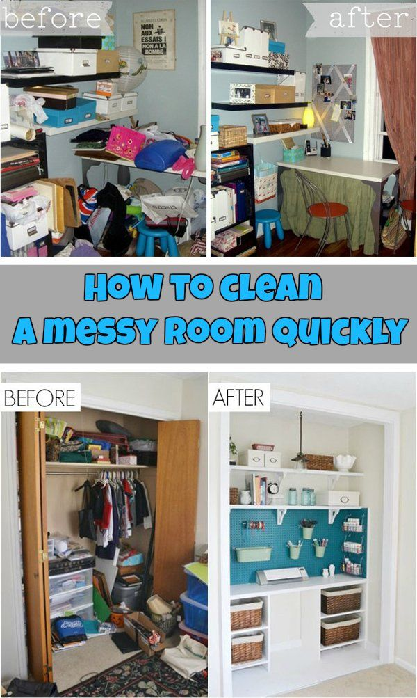 how to clean a messy room quickly peg boards cleaning tips and offices. Black Bedroom Furniture Sets. Home Design Ideas