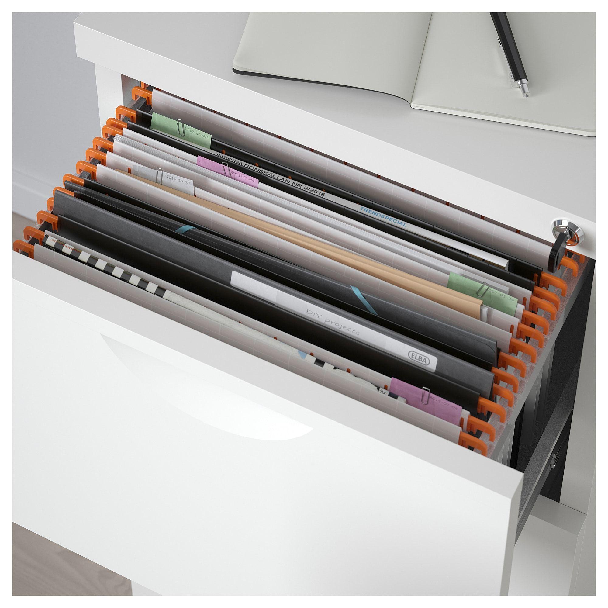 Erik Armoire A Dossiers Blanc 41x104 Cm Ikea Dossiers Suspendus Classeur