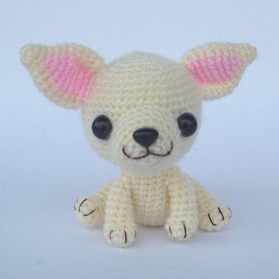 Chihuahua, Tea Cup Puppy - PDF Crochet Pattern | Amigurumi, Häkeln ...