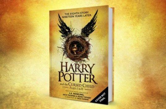 Новая книга о Гарри Поттере — «Гарри Поттер и проклятое ...