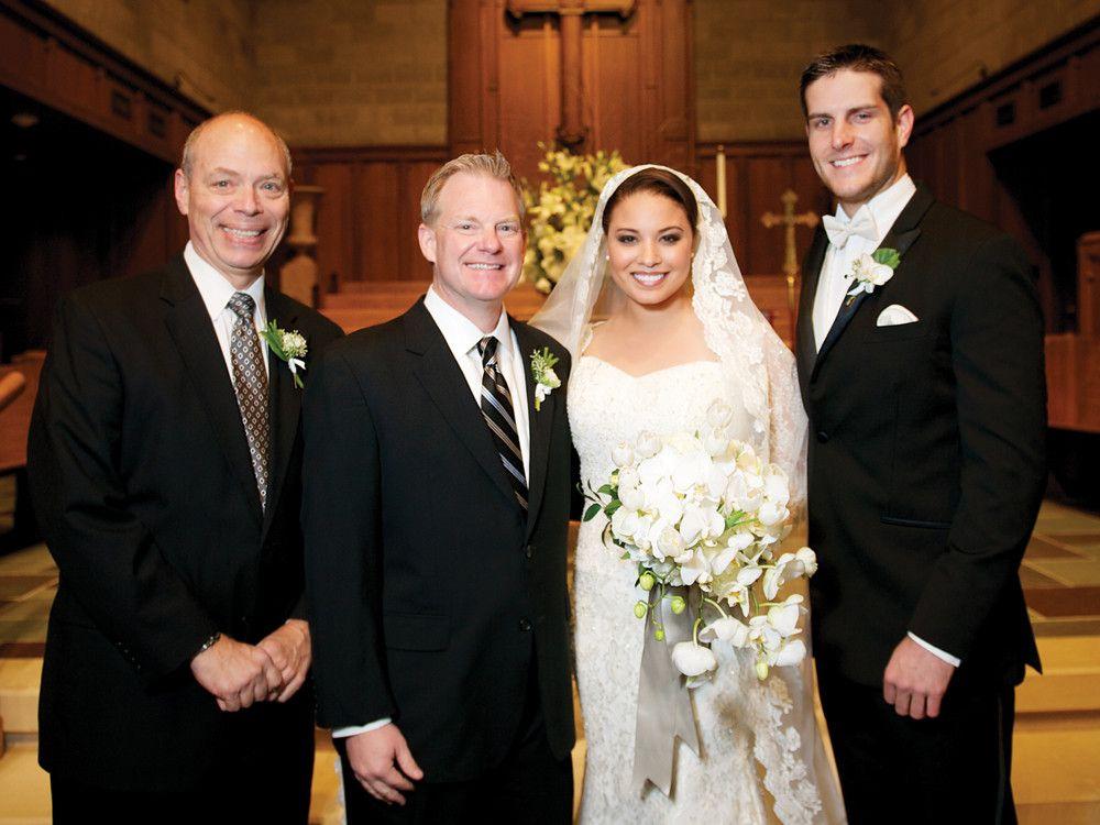 When Thv 11 S Morning News Anchor Alyse Eady Was A Freshman At Ouachita Baptist University She Used To Swoon Over A Certain Ba Rock Wedding Wedding Alyse Eady