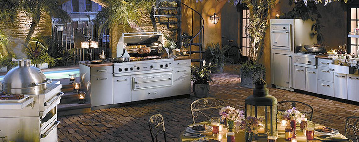 Dream outdoor kitchens gas grills awnings tiki huts