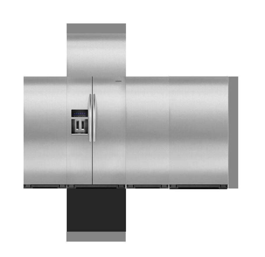 Refrigerator papercraft by WINDEARTFLY on DeviantA