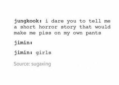 Jungkook *sweats nervously*