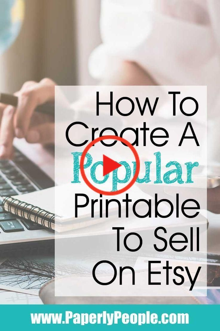 How to create a best selling digital download on etsy in